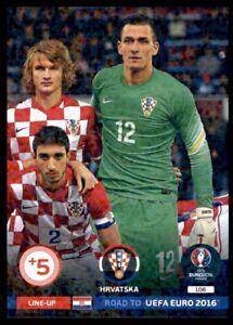 Panini Road to EURO 2016 Adrenalyn XL Line-Up 3 Hrvatska No. 108