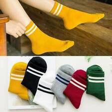 Sports Stripe Socks Cheerleader Tube Socks Ankle Socks Girls Stockings Casual