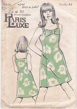 Patron Ancien Paris Luxe Femme n°5834 - Robe Bain de Soleil Taille 44