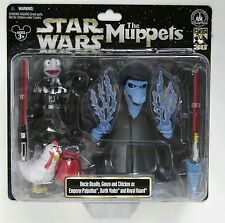 STAR WARS MUPPETS disney star tours Uncle Deadly Gonzo Palpatine Darth Vader