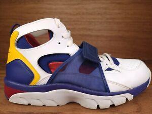 Nike Air Trainer Huarache Retro White Regency Purple 679083 107 Men's Size 12