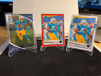 2020 Donruss Football Joshua Kelly Rated Rookie Red Press Proof #338 +Base Cards