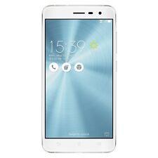 "ASUS ZenFone 3 ZE552KL 5.5"" White Factory Unlocked 64GB 16MP Cam Dual Sim Card"