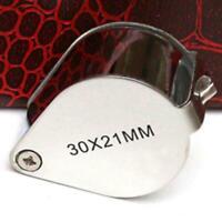 30x Juwelier Schmuck Vergrößerungs glas Reparatur Uhrmacher ._DED D6J3 I0O2
