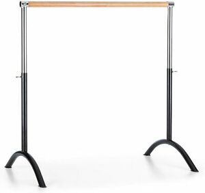 Barre de Danse Classique Mobile 110x113cm Hauteur réglable continue 70 à 113 cm