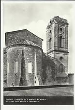 firenze   vecchia cartolina basilica di san miniato al monte