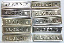 """Lot 10 AGRAFES BARETTES """"ALGERIE"""" Originales pour médaille Ordre Décoration"""