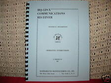 Hammarlund HQ-129X Operator & Service Manual