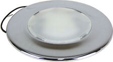 "6"" ROUND LED SURFACE MOUNT LIGHT 12V - COOL WHITE Caravan / Boat Light"