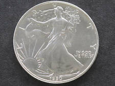 1990 Liberty Walking American Silver Eagle Dollar Coin
