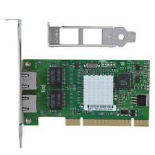 Dual Port PCI Gigabit Ethernet LAN Adapter Network Card for Intel 8492MT 82546EB