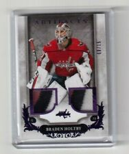 2018-19 UD Artifacts Base Material Purple Braden Holtby Washington Capitals /15