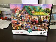 Buffalo 2000 piece puzzle Antique Market