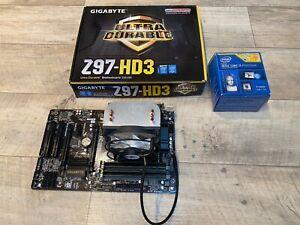 PC Aufrüstkit - Mainboard, CPU, Arbeitsspeicher (i5-4690K, Z97-HD3, 16GB RAM)