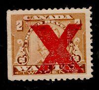 #FWT18k - Canada - 2c - c1915 War Tax Inverted X - MNH - superfleas