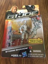 "GI Joe Retaliation STORM SHADOW From Wave 1 2012 3.75"" Action Figure"