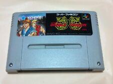 Super Famicom Return of Double Dragon Japan SFC F/S