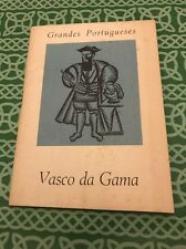 Grandes Portugueses Vasco De Gama Vintage Biography Booklet Free Shipping