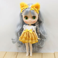 "8"" Neo Middie Blythe Doll Joint Body Nude Doll from Factory JSW1001008+Gift"