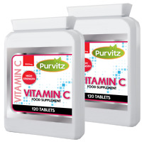 Vitamin C 240 Tablets 1000mg High Strength Vitamin C With Bioflavonoids Rose Hip