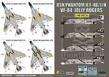 DXM decal 1/48 USN F-4B/J/N PhantomII VF-84 Jolly Rogers