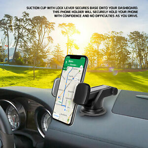 Cellet Extendable Telescopic Arm Dashboard Phone Holder Mount with Reusable Pad