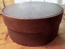 New listing Antique Country Primitive Pantry Box Cover Original Paint Signed