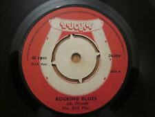 "Jah Woosh - Rocking Blues / Dub & Blues  - 7"" 1975 Lucky"