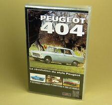VHS - PEUGEOT 404 - Documentaire : La Révolution du Style Peugeot - RETRO VISEUR