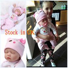 Lifelike Reborn Baby Dolls Silicone Vinyl Fake Newborn Baby Doll+Mat+Pacifier