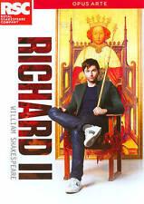 Richard II DVD Royal Shakespeare Company David Tennant play theater