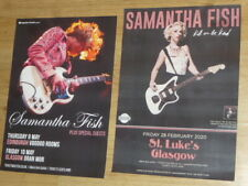Samantha Fish  Scottish tour live music show memorabilia concert gig posters x 2