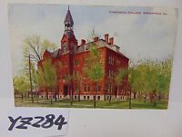 VINTAGE POSTED POSTCARD STAMP 1906 NEW COUNTY BUILDING CHICAGO IL. ILLINOIS