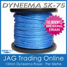 1M 10mm H/DUTY DYNEEMA SK75 SYNTHETIC ROPE-Braid/Spectra/Yacht/4x4/Trailer/Winch