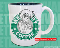 Sailor Mercury Starbucks Anime Manga Japanese Insipred Cartoon Geek Nerd Mug
