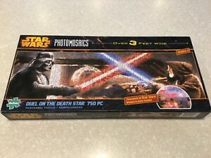 Star Wars Photomosaics: DUEL ON THE DEATH STAR 750 PC Panoramic Puzzle