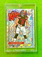 BAKER MAYFIELD KABOOM PRIZM ROOKIE CARD BROWNS SSP RC 2018 Panini Points REWARDS