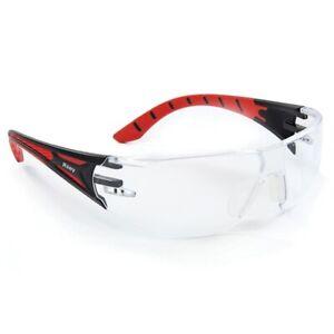 Riley Stream Clear Lens Colour Anti Scratch Mist Fog UV400 Safety Glasses Specs