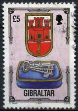 Gibraltar 1993-5 SG#708 £5 Architectural Heritage Definitive Used #D99242