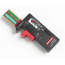 Indicator Universal Battery Cell Tester AA AAA C/D 9V Volt Button Checker Best