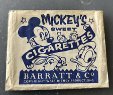 More details for barratts mickey's sweet cigarettes vintage sweet packet b & co