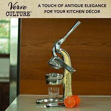 Artisan Hand Press Citrus Juicer Verve Antique-Vintage-Style Manual Farmhouse