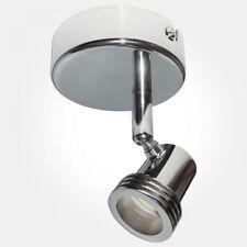 Eterna CK1CR 1 x 50w GU10 240v Polished Chrome spotlight
