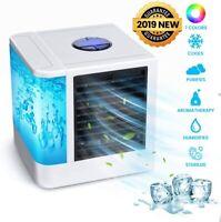 Climatiseur Portables,Refroidisseur d'Air Personnel USB Humidificateur de Bureau