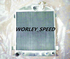 Aluminum Radiator for 1932 Ford Chopped engine 32 Auto AT 64mm 3-ROW