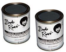 Bob Ross Liquid White Martin/ F. Weber R6214 473-Ml 16 fl oz Oil Paint, 2 Pack
