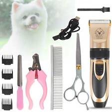 Professional Pet Dog Clipper Grooming Trimmer Animal Hair Electric Shaver Kit