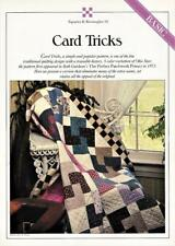 Card Tricks Table Runner & Quilt Pattern w/ Flexible Templates Best Loved