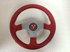 12.5 Inch Steering Wheel Fiat 128 X19 124 500 600 850 Spider Abarth -NEW- #353