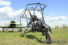 Drawings Trike Paramotor, Aeroshyut hands - Aeroshyut Felix